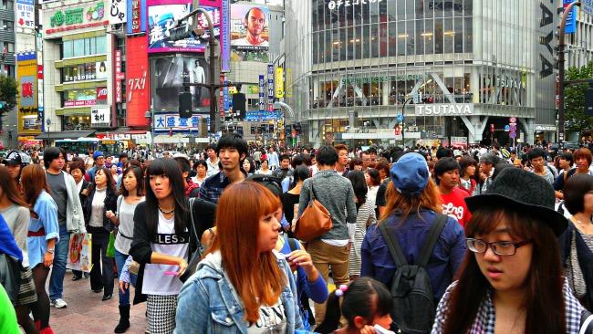 Busy Shibuya