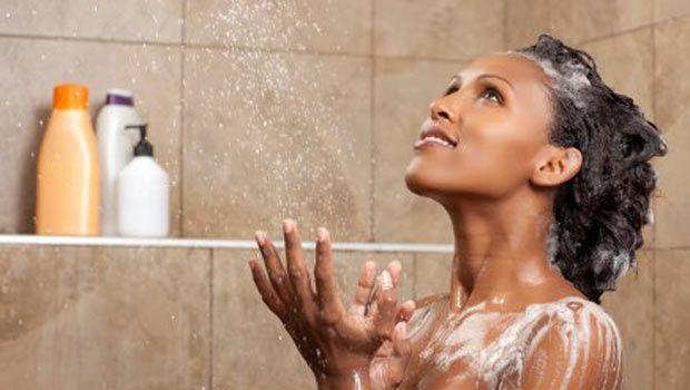 Co-washing natural hair