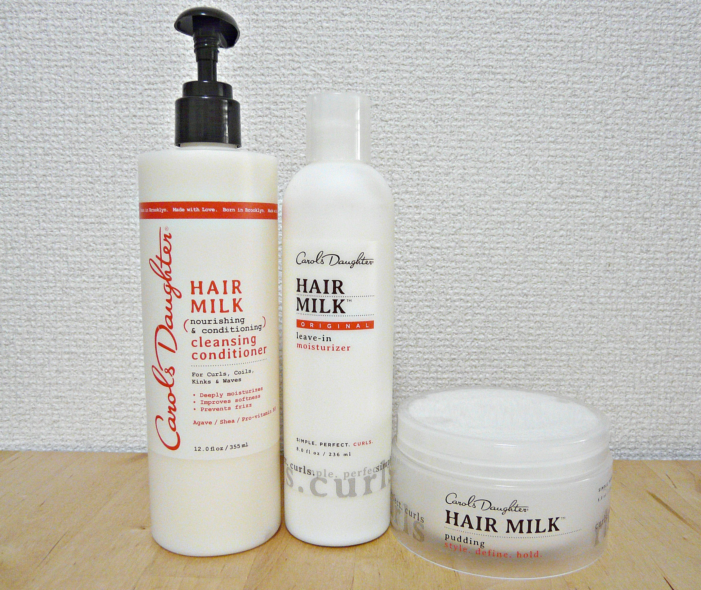 Carol's Daughter Hair Milk Deep Moisture Curl Set
