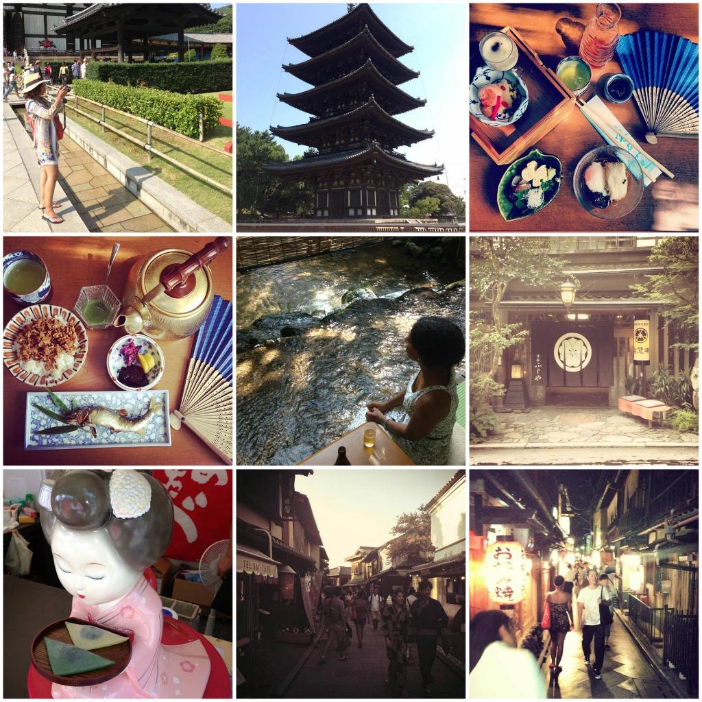 Eleanor J'adore in Kyoto