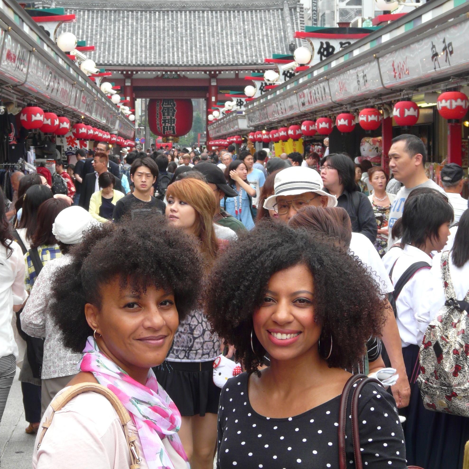 Sisters in Tokyo