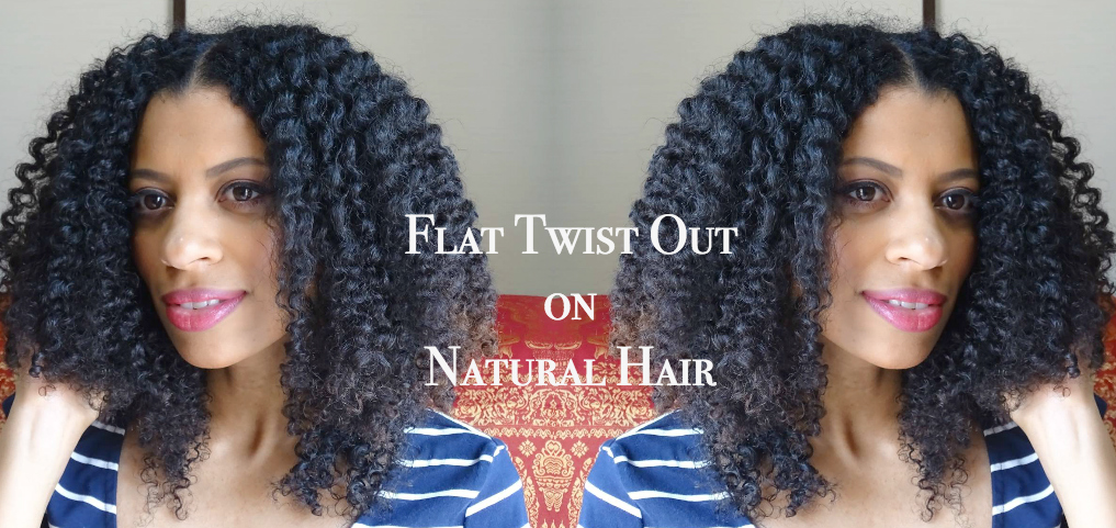Eleanor J'adore - Flat Twist Out Tutorial