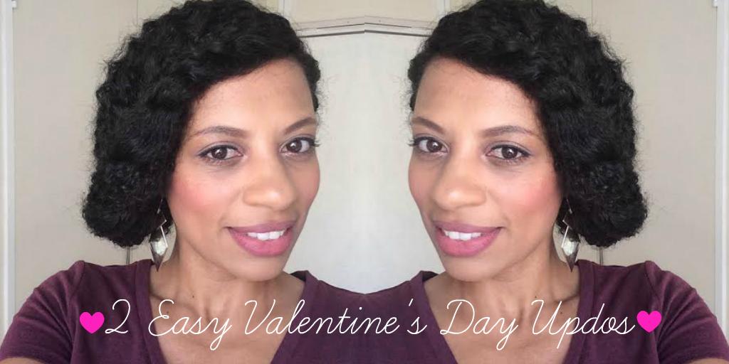 eleanorjadore - 2 Easy Valentine's Day Updos
