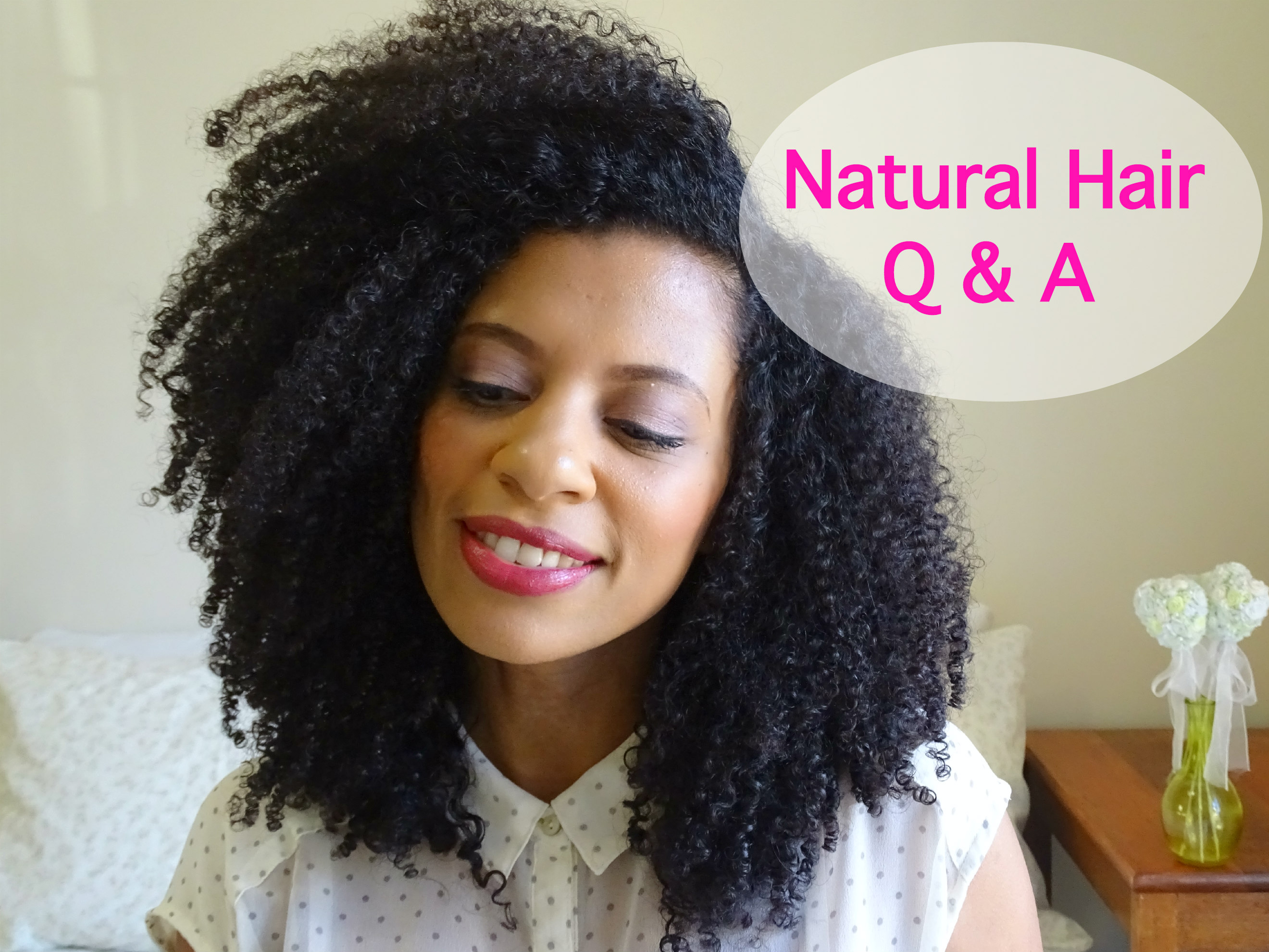 eleanorjadore - Natural Hair Q & A